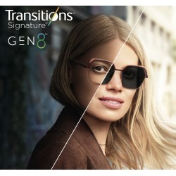 Lente fotocromatica Transition® 8-GEN