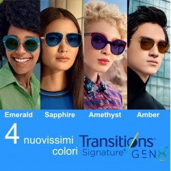 Lente fotocromatica Transitions® GEN 8 EMERAL